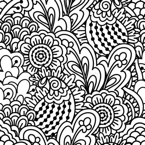naadloze zwart witte achtergrond vector illustratie illustratie bestaande uit goed getrokken
