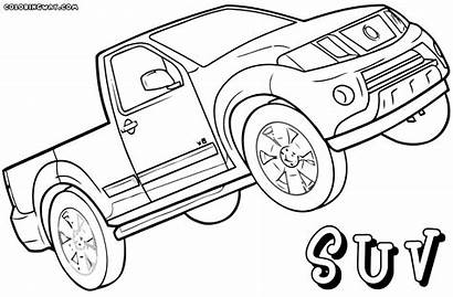 Suv Coloring Colorings