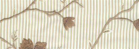 Blackout Curtain Lining For Eyelet Curtains by Stripes Amp Flowers Embroidery Beige Brown Amp Cream Luxury