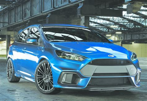 Ford Performance Focus Rs by New 2016 Ford Focus Rs Performance Model With 315 Hp Is