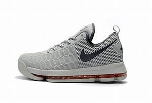 Nike KD 9 Grey Red Basketball Shoes | New Jordans 2017