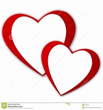 Hearts Deux Coeurs Harten Twee Cuori Due