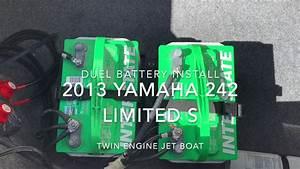 Dual Battery Wiring Yamaha 242 Jet Boat