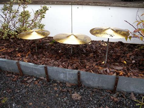 Using Old Drum Cymbals To Play Music From The Rain Music