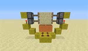 Minecraft Redstone Piston Door