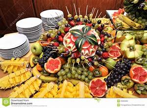 Fruits on a buffet table stock photo Image of appetizers