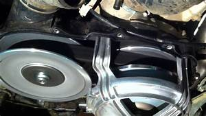 Grizzly 700 Transmission Video 1 5mm Shims Installed