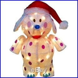 pre lit rudolphs misfit  toys tinsel animated christmas