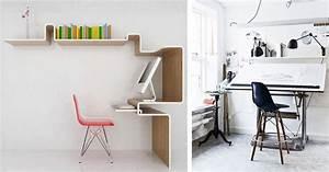 Plan De Travail Pour Bureau : la fabrique d co am nager son espace de travail la maison ~ Dailycaller-alerts.com Idées de Décoration