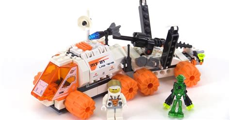 Lego Mars Mission Mt21 Mobile Mining Unit From 2008! Set 7648