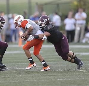 OVC FOOTBALL: EKU's Skidmore takes over at center after ...