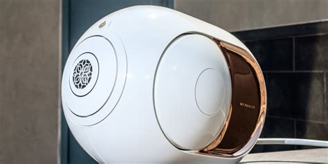 New Devialet Phantom Gold Bluetooth Speaker Business Insider