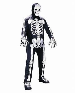Halloween Skelett Kostüm : skelett kost m anzug skelett overall knochen kost m ~ Lizthompson.info Haus und Dekorationen