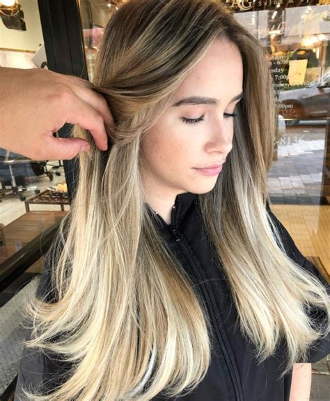 hair coloring services highlights ombre foilyage