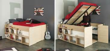 Solution This Bed Has Plenty Of Storage Space Built Into The Design Design Bedroom Interior Design Chinese Bedroom Interior Design Columbia Full Size White Bunk Beds For Teens 50 Thoughtful Teenage Bedroom Layouts DigsDigs