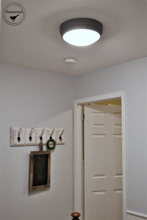 hallway project  ceiling lights homeroad