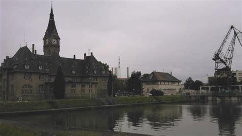 strasbourg port du rhin paysage ferroviaire