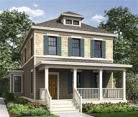 historical foursquare house plan gf architectural designs house plans