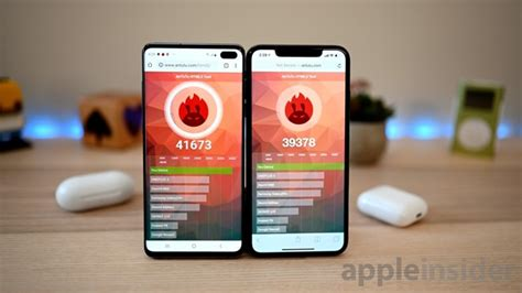 benchmark showdown samsung galaxy s10 versus iphone xs max