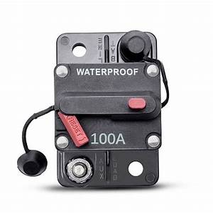 100a Car Circuit Breaker Thermal Trip Inline Fuse Inverter