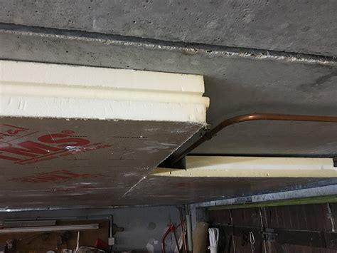 isolation phonique par le plafond isoler plafond sous sol pas cher