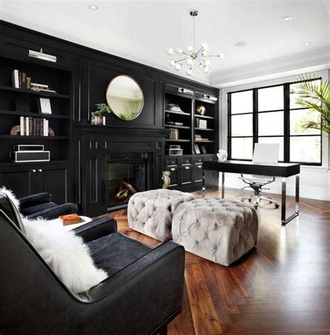 color design ideas  black furniture