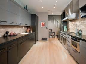 Small Galley Kitchen Design Picture Idea Hgtv Hgtv Galley Kitchen Design In Modern Living