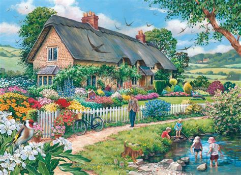 Lazy Days   Avon Collection 500 Piece Puzzle by House Of