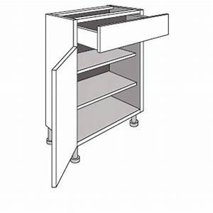Meuble Bas Cuisine Largeur 30 Cm : meuble cuisine 30 cm de profondeur ~ Melissatoandfro.com Idées de Décoration