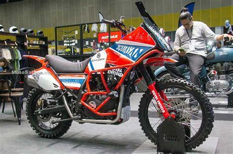 Gambar Motor Royal Enfield Himalayan by Royal Enfield Himalayan Ini Terinspirasi Dakar Rally