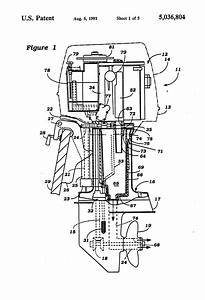 Patent Us5036804 - Cooling System For Four Stroke Outboard Motor