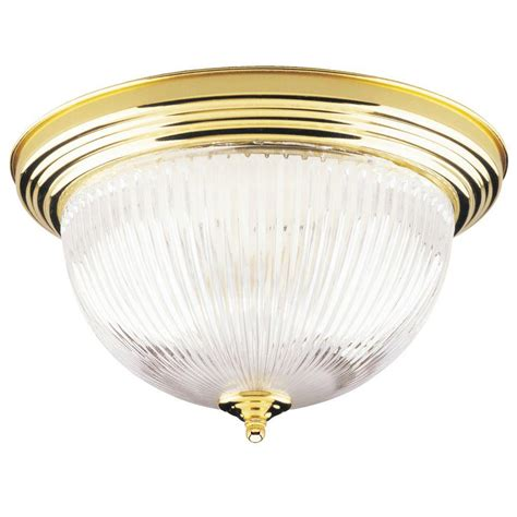 westinghouse  light ceiling fixture polished brass