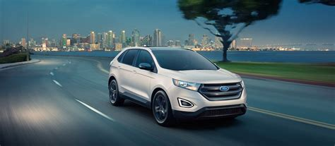 2018 Ford® Edge Suv  Sporty Utility For Unstoppable