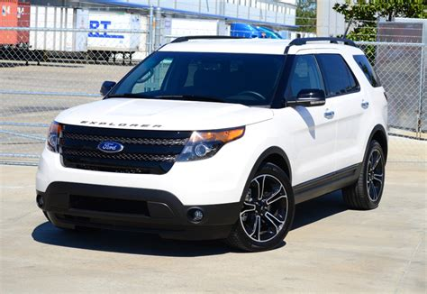 ford explorer sport review test drive