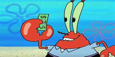 What If Mr. Krabs From 'spongebob Squarepants' Is Secretly