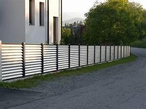 Alu gartenzaune von leeb for Garten planen mit balkon alu holzoptik