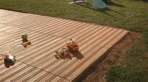 Terrasse Bois Sur Terre : construire sa terrasse sur de la terre meuble notre ~ Dailycaller-alerts.com Idées de Décoration