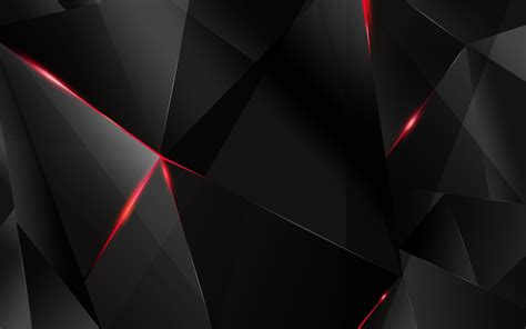 Abstract Black Triangle Background by A Combination Of Black Geometric Triangles Triangles