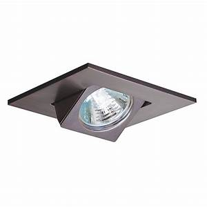 Halo in tuscan bronze recessed lighting square