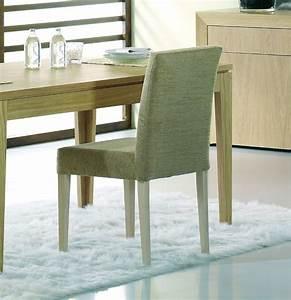 Chaise de salle a manger en bois brin d39ouest for Meuble salle À manger avec chaise salle a manger bois et tissu