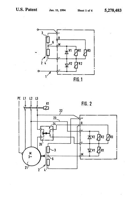 patent us5278483 motor brake with single free wheeling