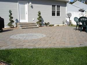 Paver patio cost nj for Paver patio cost nj