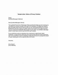 best photos of notification letter to tenant template With giving notice to landlord template