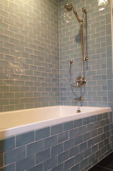daltile subway tile  bathtub  bathroom fixture