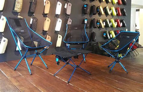 helinox swiwel chair and table
