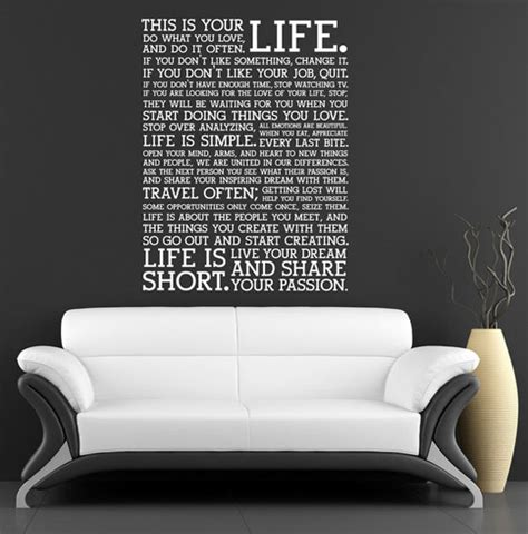 Bedroom Wall Decor Quotes