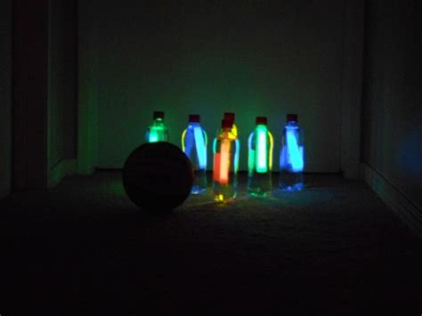 create glow   dark bowling   home