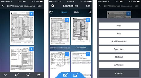 iphone scanner app best document scanner apps for iphone create search and
