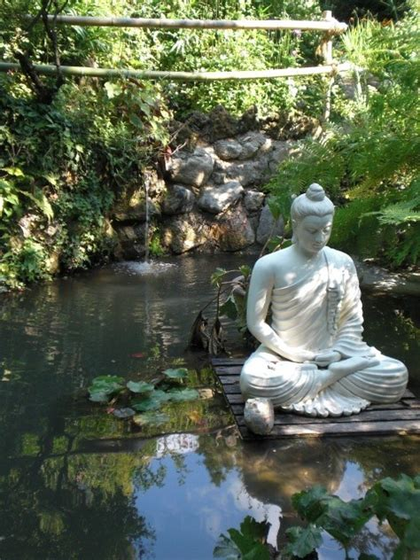 Buddha Zen Garten by Water Garden Statue Buddhism Buddha Spiritual Zen Tranquil