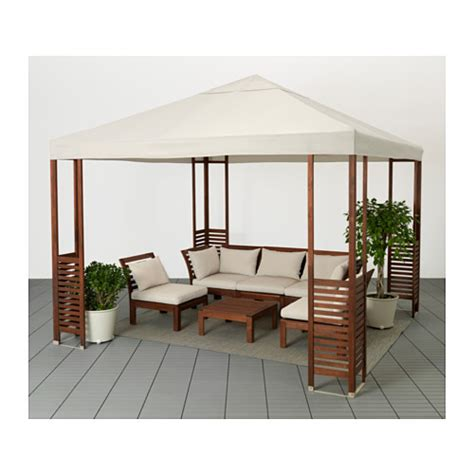196 pplar 214 gazebo brown white beige patios dining and summer